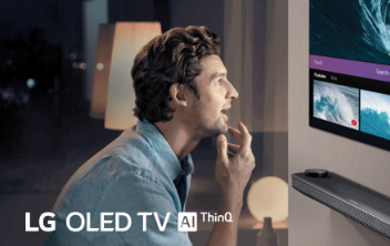 TV with LG ThinQ® AI image