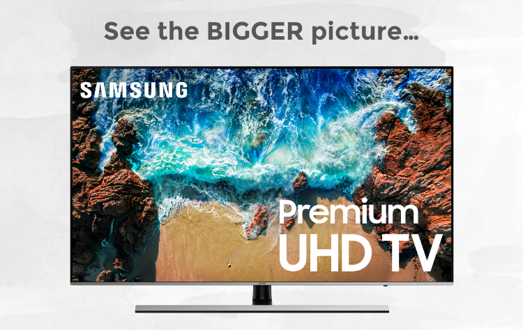 Samsung QLED TV picture