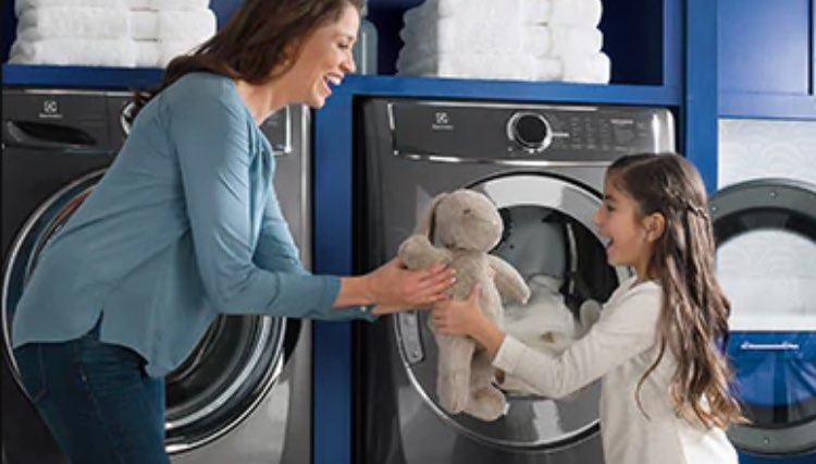 Family using ElectroLux Appliances image
