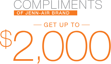 jenn-air kitchen appliance rebate