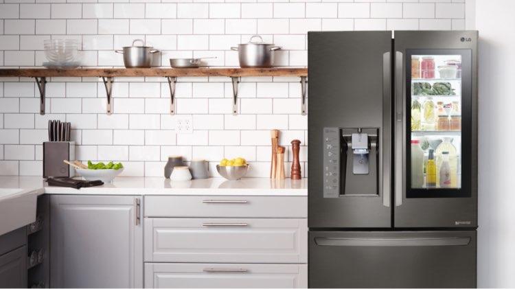 Kitchen with LG Appliances