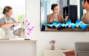 samsung electronics televisions Ambient Mode