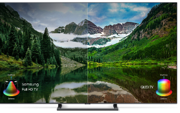samsung electronics televisions Q Color ™