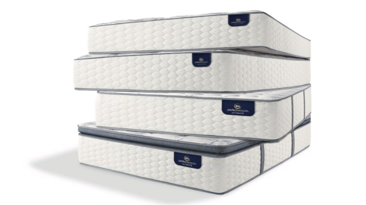 Serta Perfect Sleeper Mattress in a stack image