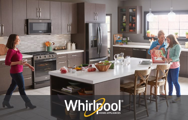 fingerprint Resistant Appliances by Whirlpool